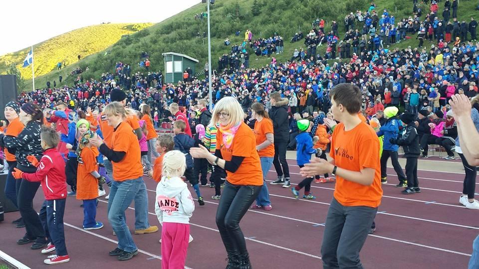 Flash Mob Iceland