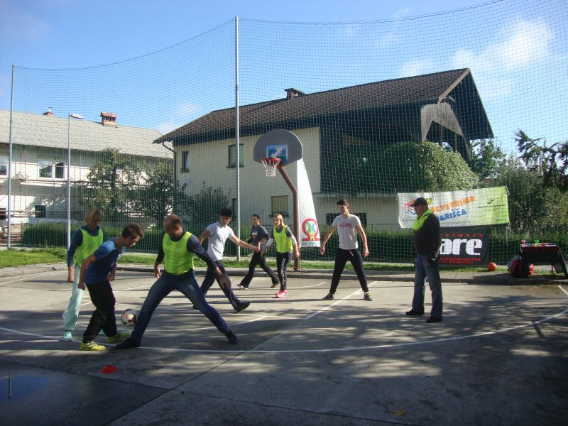 Walking football_Skofja Loka