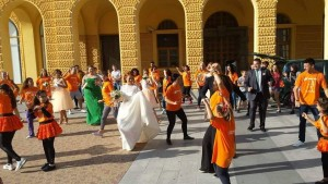 flash move move week 2015 wedding dance physical activity celebrate movement