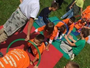 croatia move week 2015 children activities magical forest health prevention games playing