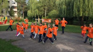 lithuania move week kindergarten active children physical activity