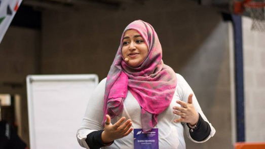 Shirin Mehmood, Lead Officer for Birmingham of the the UK's This Girl Can campaign - ISCA MOVE Congress 2015