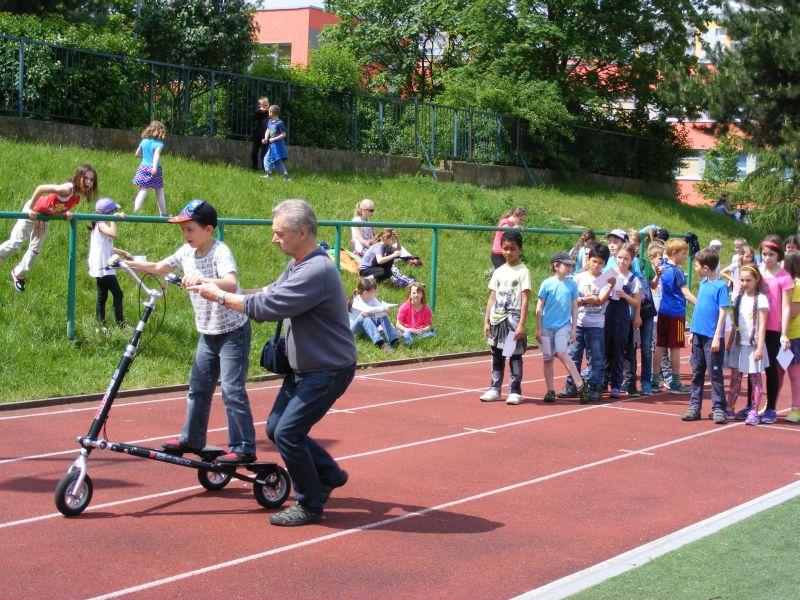 Řepy v pohybu (MOVE Week in Prague). Photo: ČASPV (Czech Association Sport for All)