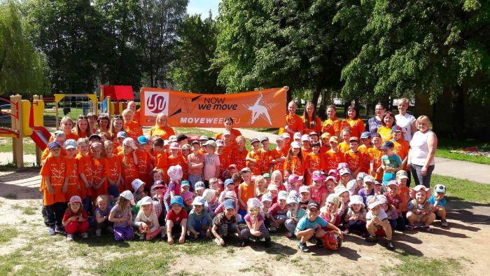 MOVE Lithuania kindergarten