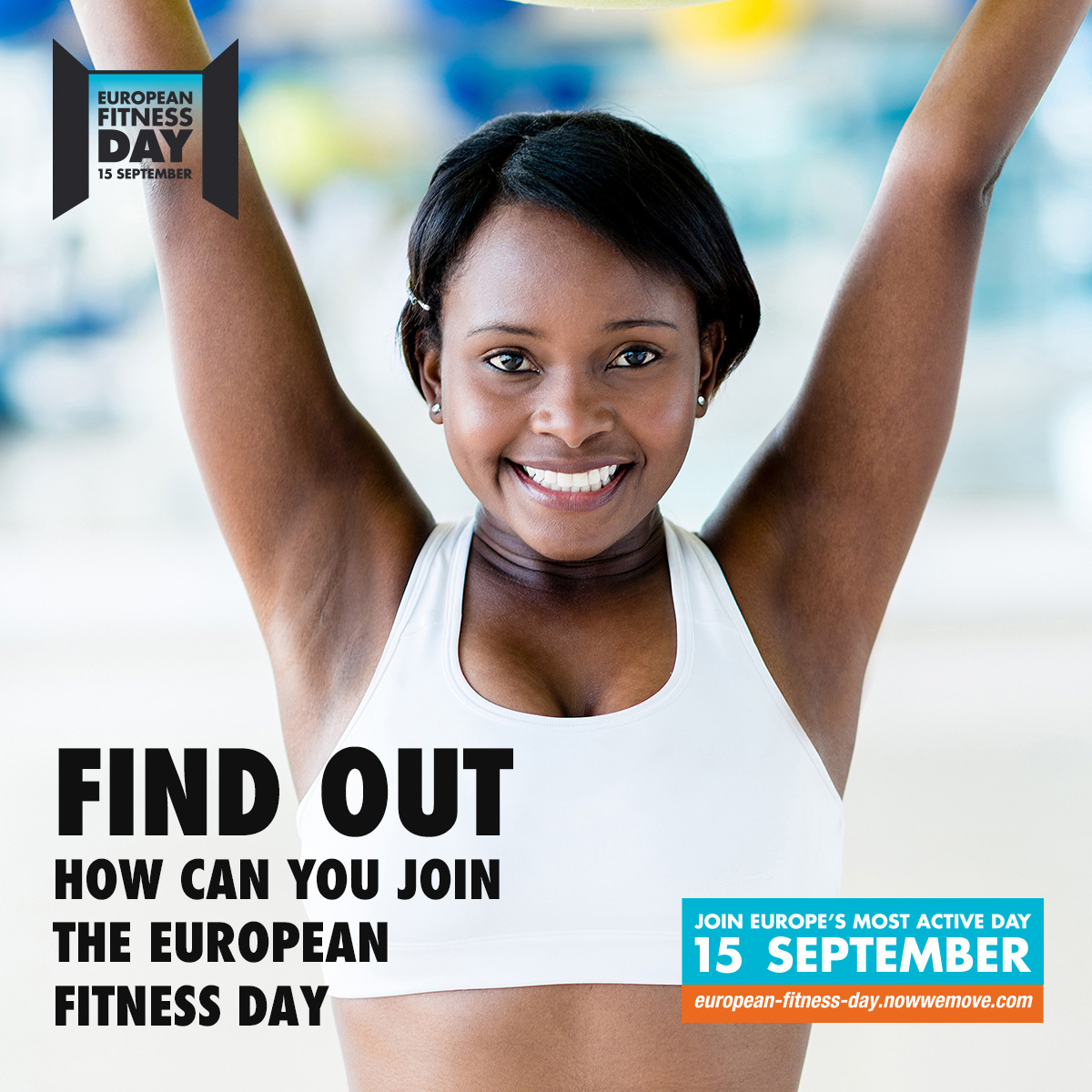 Join the most active day of the year.