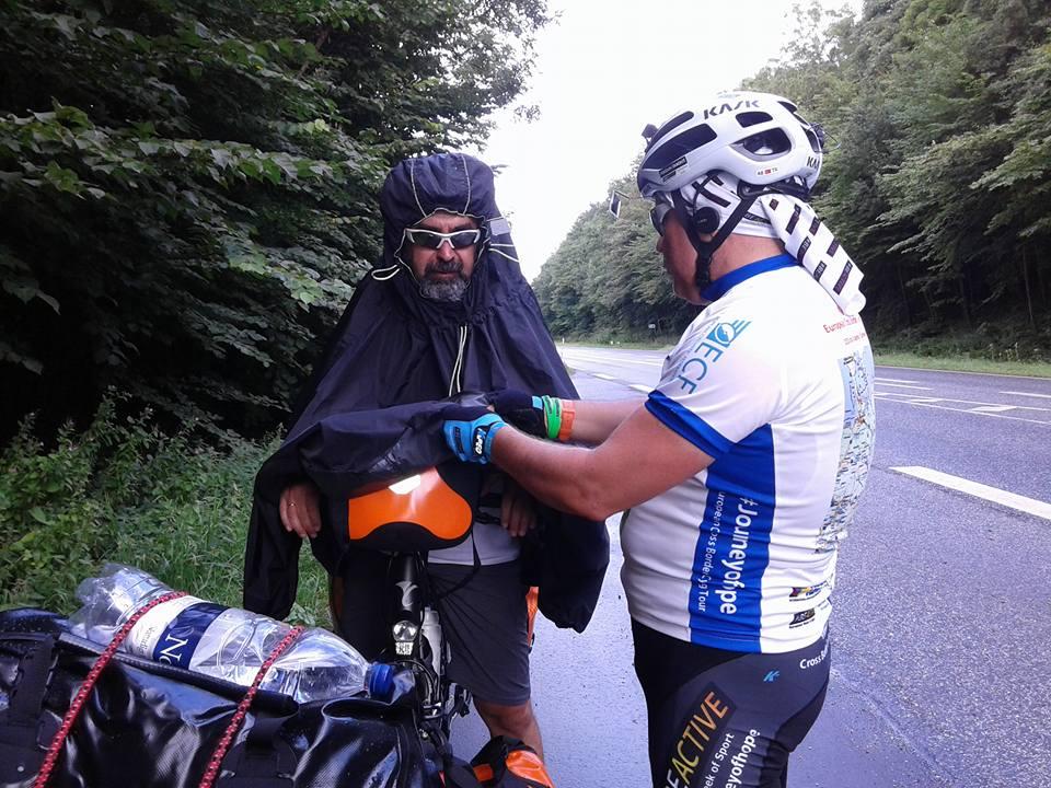 Adnan Cangir and Feridun Ekmekci_cycling_Journey of Hope