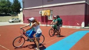Aysel autistic children_cycling
