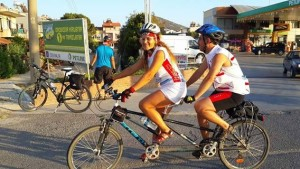 Aysel_cycling with blind