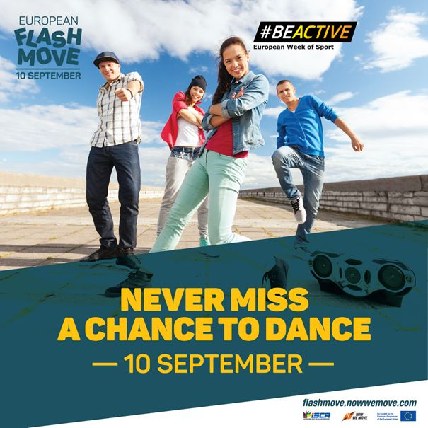 FlashMOVE flash mob_BeActive_moving people