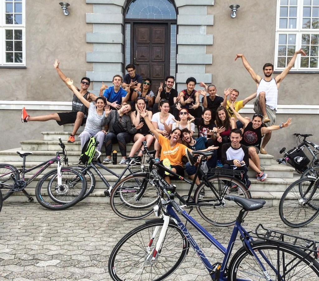 Ollerup students are ready to MOVE the Danish capital next week. Photo courtesy of the students.