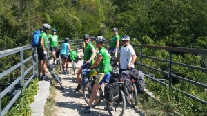Time to take in the scenery on the Parenzana biking trail