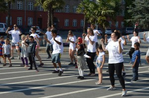 FlashMOVE at Superkilen Park lead by Ollerup students